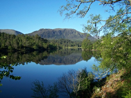 Loch Affric in early morning light