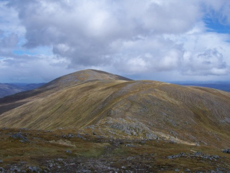 Toll Creagach from Tom a' Choinich